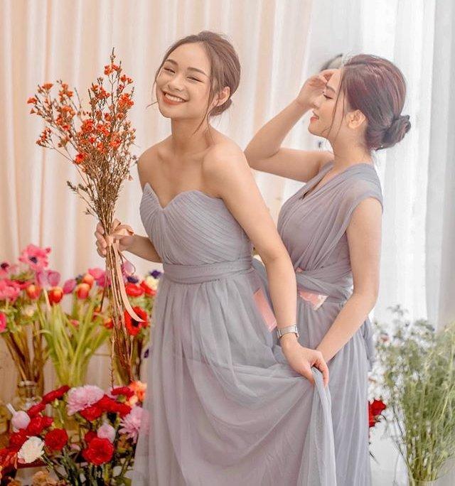 Trọn bộ ảnh cưới của cô chủ tiệm nail và bạn thân được dân tình hết lời khen ngợi-2