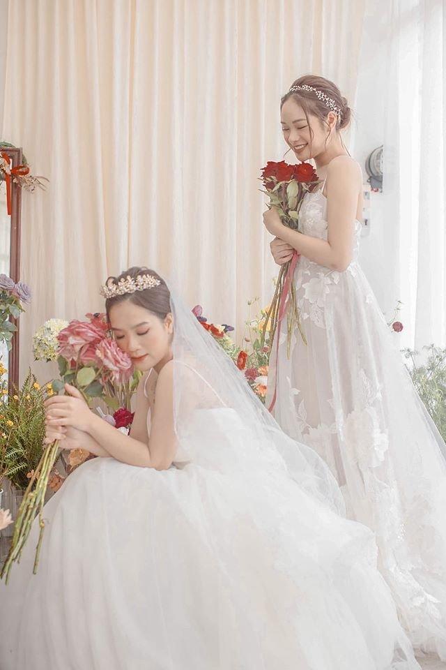 Trọn bộ ảnh cưới của cô chủ tiệm nail và bạn thân được dân tình hết lời khen ngợi-5