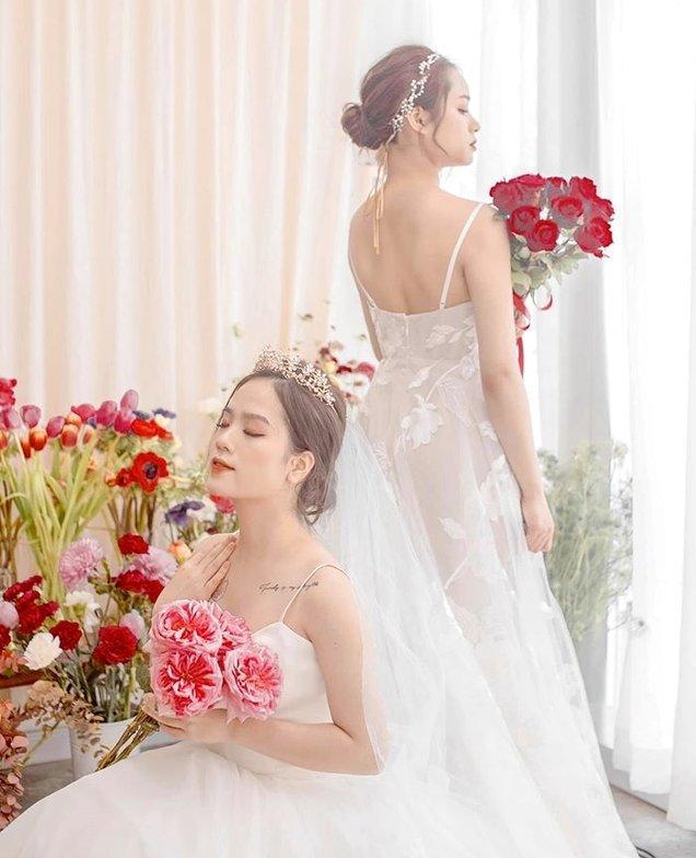 Trọn bộ ảnh cưới của cô chủ tiệm nail và bạn thân được dân tình hết lời khen ngợi-8