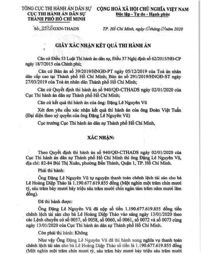 Ông Đặng Lê Nguyên Vũ đã nộp xong gần 1.200 tỷ thi hành án-1
