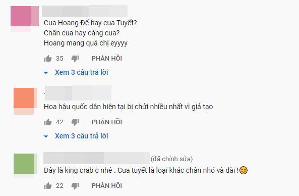 Hoa hậu Phạm Hương dạy nấu món quý tộc nhưng lại dịch tiếng Anh King Crab thành Cua Tuyết-3