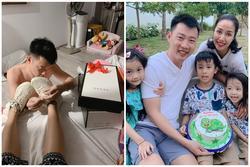 Sướng như Ốc Thanh Vân: chồng mang thiệp tận giường, xỏ giày hiệu tận chân cho vợ nhân dịp sinh nhật