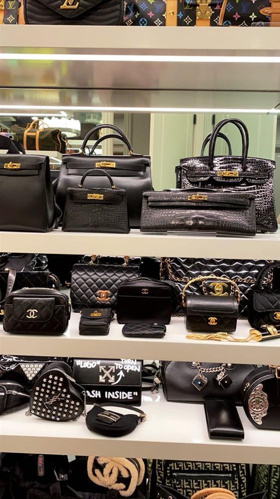 Kylie Jenner khoe 400 chiếc túi xách hàng hiệu-3