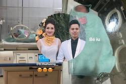 'Cô dâu 200 cây vàng' ở Nam Định đã sinh con, dung mạo em bé rich kid cũng được lộ diện?