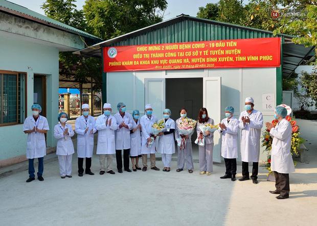 Thêm 2 bệnh nhân nhiễm Covid-19 ở Vĩnh Phúc được xuất viện: Đã hoàn thành phác đồ điều trị, nhưng vẫn phải được theo dõi tại nhà-1