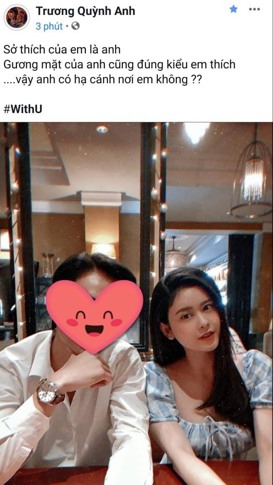 Ly hôn đã lâu, Trương Quỳnh Anh lại chơi trò ú tim khi đăng ảnh tình tứ bên chồng cũ?-1