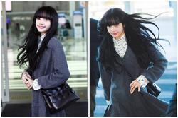 Lisa (BLACKPINK) ghi điểm tuyệt đối với gương mặt xinh như búp bê và mái tóc đen dài