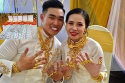 Cặp đôi nhận hồi môn 2,5 tỷ và 49 cây vàng: Chị gái chú rể cũng tặng em số tiền đáng nể