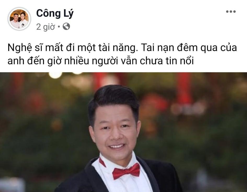 Sao Việt bàng hoàng trước sự ra đi của NSƯT Vũ Mạnh Dũng - giọng ca opera bị anh vợ sát hại-1