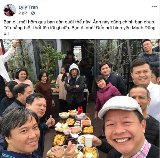 Sao Việt bàng hoàng trước sự ra đi của NSƯT Vũ Mạnh Dũng - giọng ca opera bị anh vợ sát hại-2