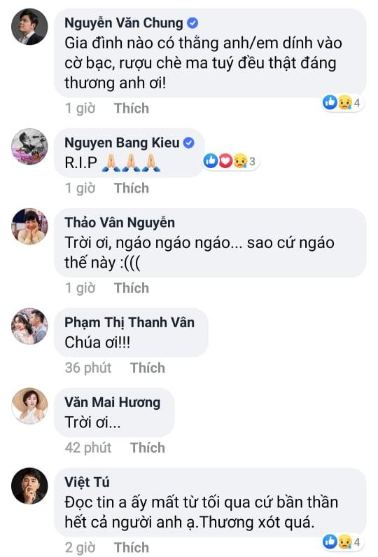 Sao Việt bàng hoàng trước sự ra đi của NSƯT Vũ Mạnh Dũng - giọng ca opera bị anh vợ sát hại-4