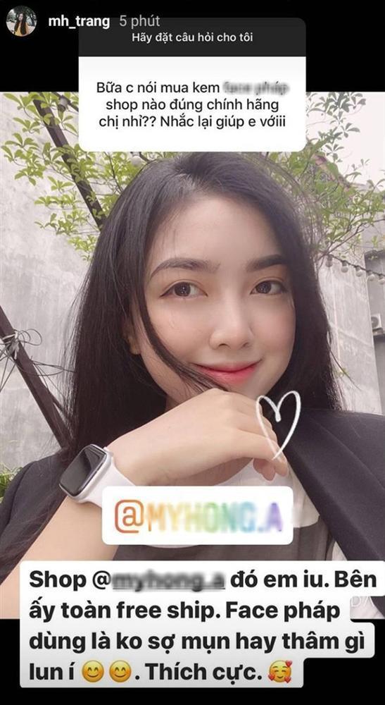Bạn gái Đức Chinh bị tố PR một sản phẩm cho nhiều cửa hàng-1