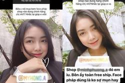 Bạn gái Đức Chinh bị tố PR một sản phẩm cho nhiều cửa hàng
