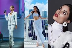 Bản tin Hoa hậu Hoàn vũ 19/2: Phạm Hương chơi tông trắng xuất sắc hơn cả người chiến thắng