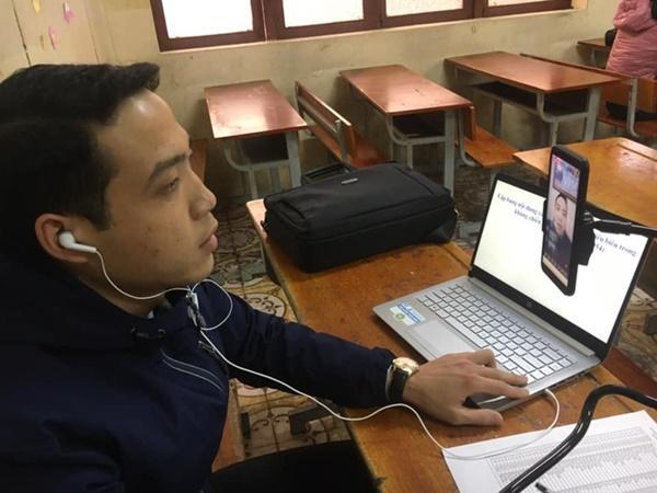 Thầy cô Hải Phòng trở thành streamer khi học sinh ở nhà tránh dịch-1