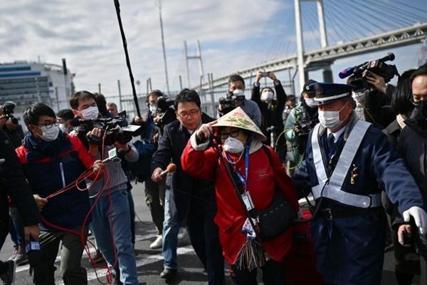 Thêm 79 người nhiễm virus corona trên du thuyền Diamond Princess