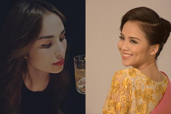 Hoa hậu Diễm Hương lộ sống mũi cao vống như chẳng liên quan gì đến gương mặt-2