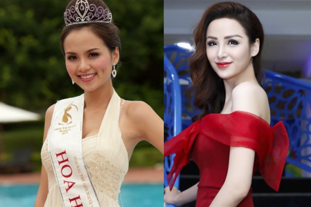 Hoa hậu Diễm Hương lộ sống mũi cao vống như chẳng liên quan gì đến gương mặt-4