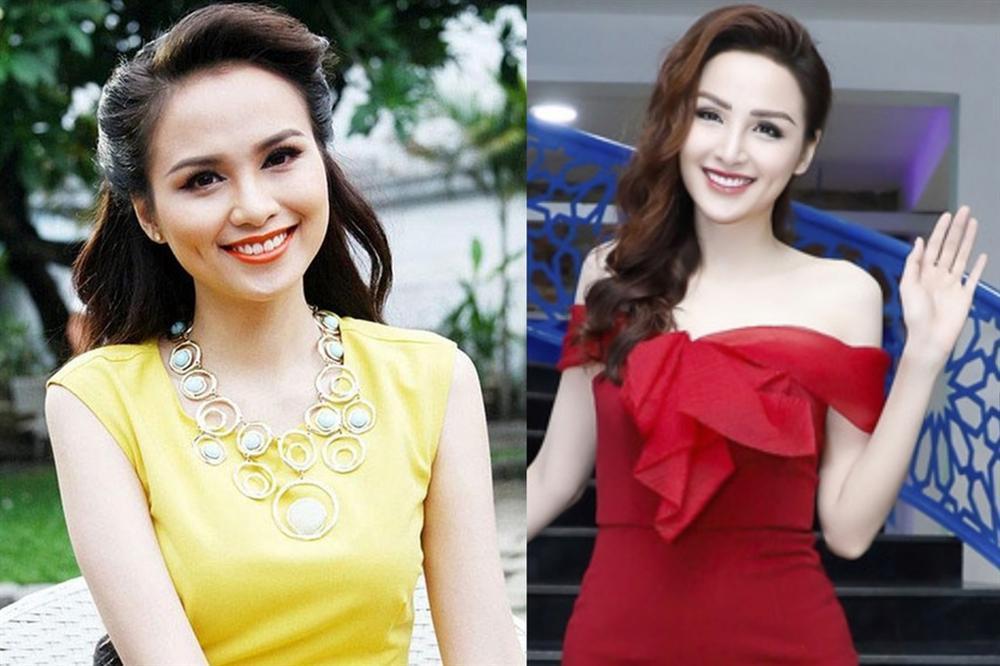 Hoa hậu Diễm Hương lộ sống mũi cao vống như chẳng liên quan gì đến gương mặt-5