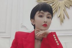 Từ bỏ hình ảnh 'bánh bèo', vợ hai Minh Nhựa bất ngờ xuất hiện với phong cách tomboy cá tính