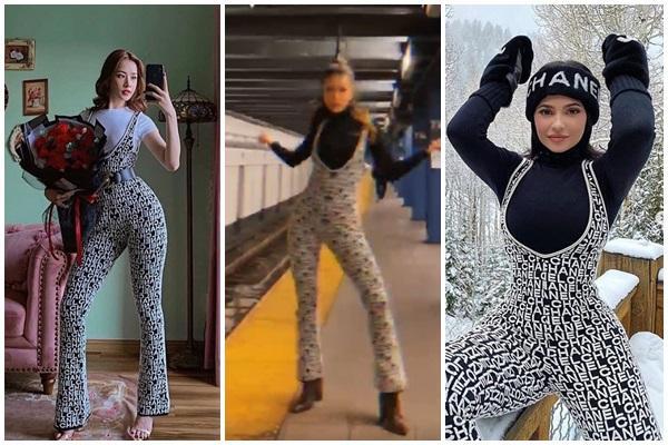 Minh Tú diện jumpsuit 80 triệu đồng chậm chân Chi Pu - Kylie Jenner nhưng vẫn đẹp bất bại-8