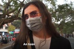 Khách Tây: 'Chúng tôi thấy Hà Nội rất an toàn'