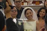 HOT: Cô dâu Tóc Tiên cười mãn nguyện bên chú rể Hoàng Touliver trong đám cưới bí mật
