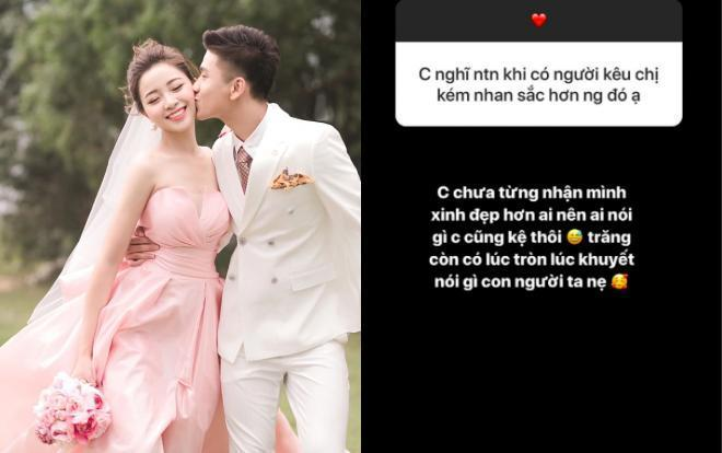 Vợ Phan Văn Đức phản ứng căng đét sau nhiều lần bị chê kém sắc hơn tình cũ của chồng-3