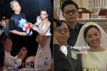 Tiệc cưới Tóc Tiên - Hoàng Touliver: Cô dâu mặc váy cực xinh, chú rể rưng rưng nước mắt-16
