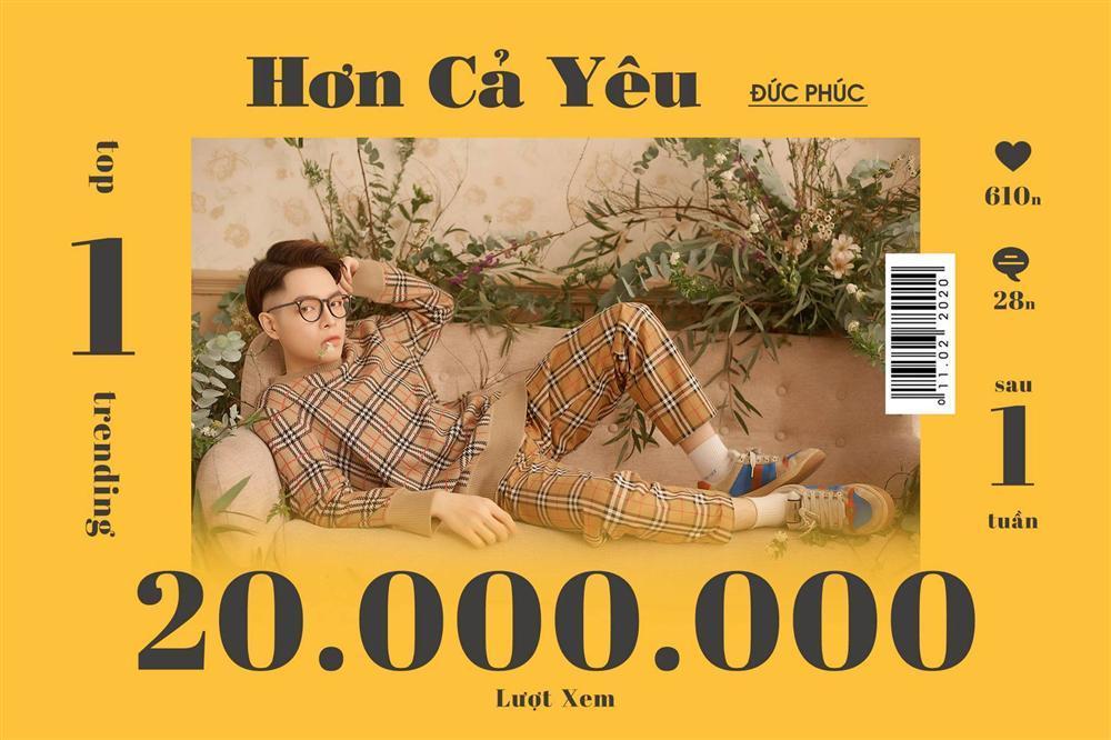 Cán mốc 1 triệu lượt đăng ký kênh Youtube, Đức Phúc phấn khích: Ôi nút vàng của tôi!-6