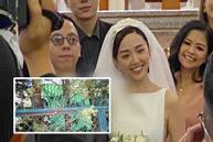 Biệt thự tổ chức lễ cưới Tóc Tiên và Hoàng Touliver che bạt kín mít