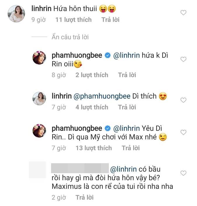 Hoa hậu Phạm Hương được em dâu tương lai của Hà Tăng xin làm thông gia-2