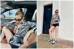 Cố tình phanh cúc áo tạo dáng bá đạo trên xe ô tô, Hoa hậu Kỳ Duyên bị soi hớ hênh điểm nhạy cảm