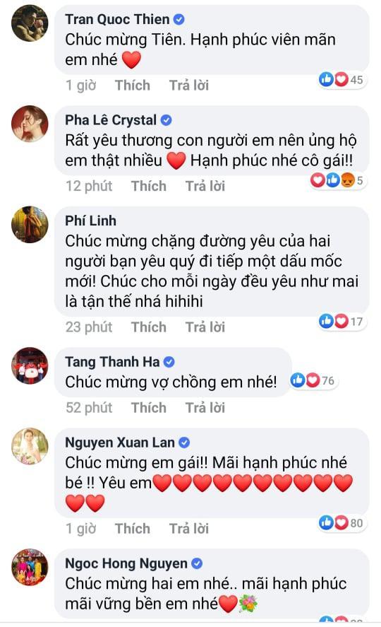 Tăng Thanh Hà, Hồ Ngọc Hà và dàn sao Việt gửi lời chúc phúc Tóc Tiên-3