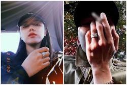 Phương Ly khoe ảnh đeo nhẫn đôi với một người đàn ông che mặt và danh tính chắc chắn sẽ khiến bạn bất ngờ