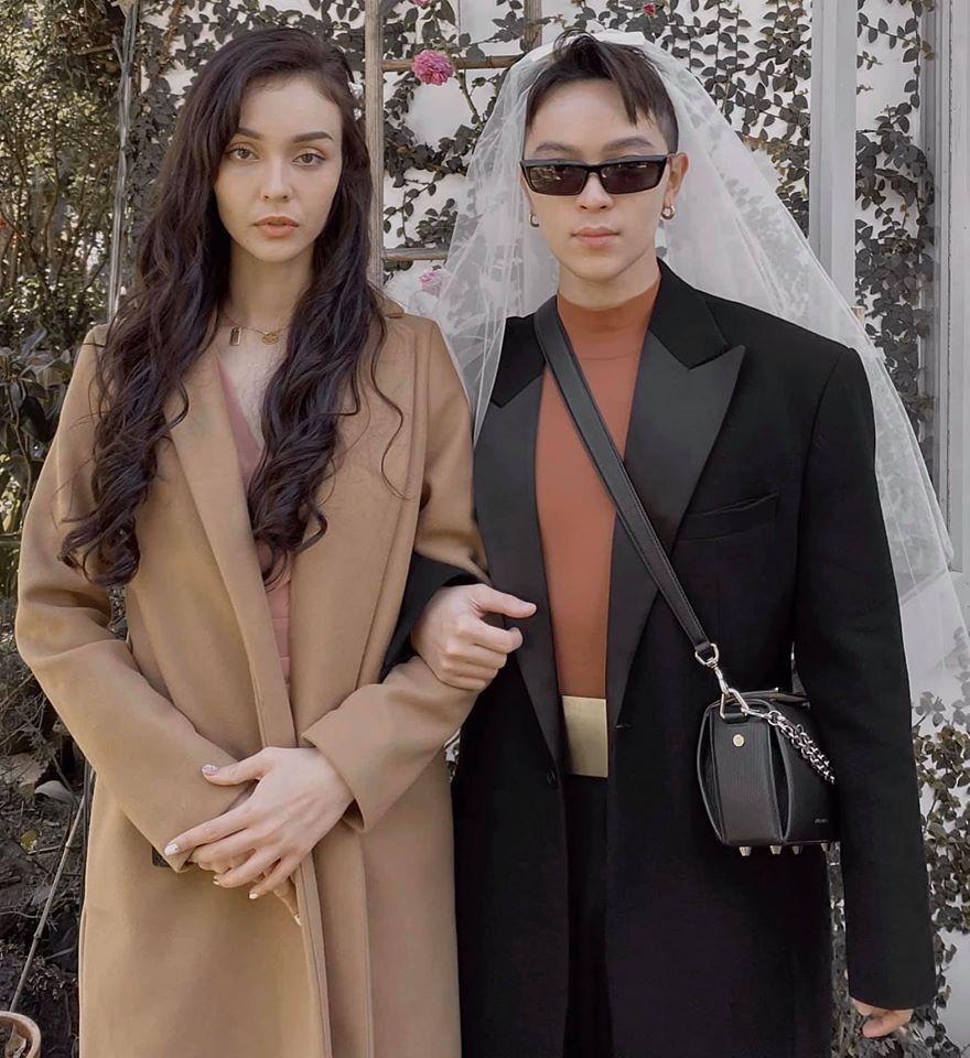 Khách mời quậy banh nóc trong hậu trường đám cưới Tóc Tiên - Hoàng Touliver-8