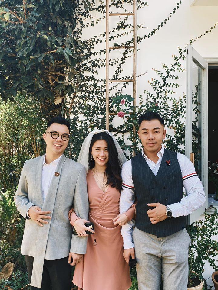 Khách mời quậy banh nóc trong hậu trường đám cưới Tóc Tiên - Hoàng Touliver-7