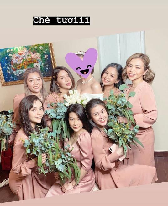 Khách mời quậy banh nóc trong hậu trường đám cưới Tóc Tiên - Hoàng Touliver-2