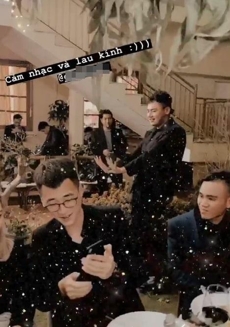 Khách mời quậy banh nóc trong hậu trường đám cưới Tóc Tiên - Hoàng Touliver-14