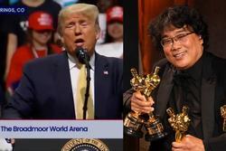 Tổng thống Donald Trump châm biếm chiến thắng của 'Parasite' tại Oscar