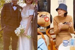 Sau hôn lễ bí mật, Tóc Tiên và ông xã lần đầu để lộ nhẫn cưới