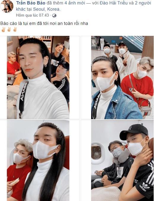 Bất chấp virus corona bùng phát ở Hàn Quốc, BB Trần và người tình đồng giới vẫn lao vào tâm dịch-1