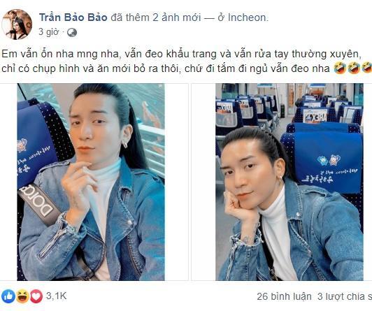 Bất chấp virus corona bùng phát ở Hàn Quốc, BB Trần và người tình đồng giới vẫn lao vào tâm dịch-7