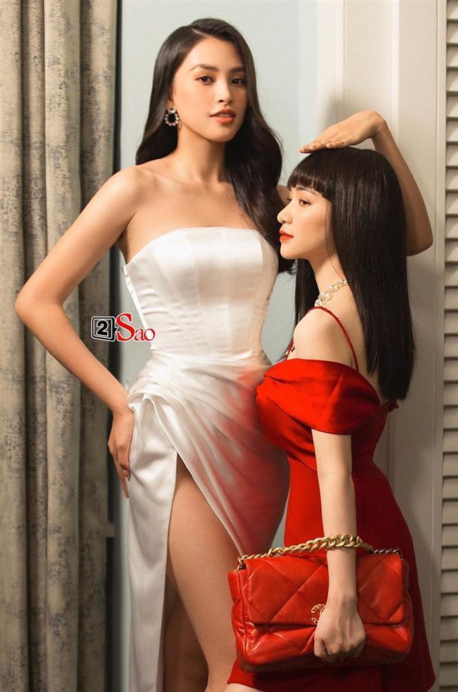 Đứng đến cổ Tiểu Vy, Hòa Minzy tự sưu tập thêm bức hình dìm hàng chiều cao-1