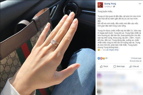 Quang Trung khóc hết nước mắt vì bị mất nhẫn hiệu nơi xứ người-1
