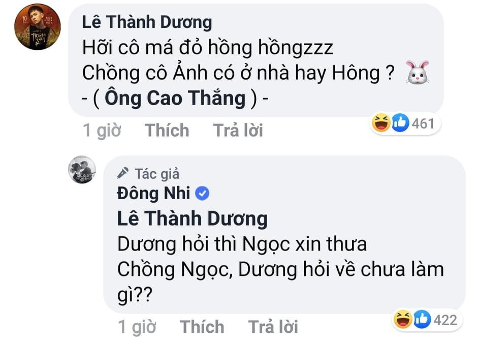 Ngô Kiến Huy ve vãn Ông Cao Thắng, Đông Nhi lập tức xuất khẩu thành thơ giữ chồng-2
