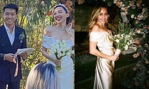Váy cưới giá 8.600 USD của Tóc Tiên-1