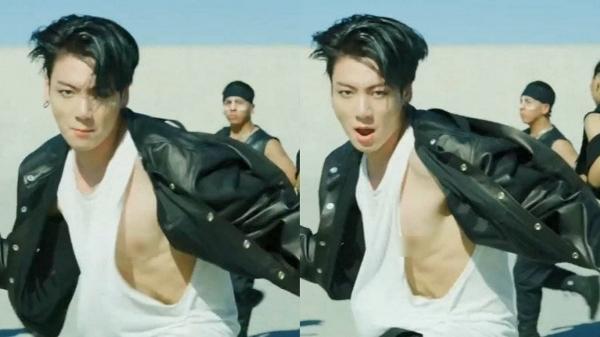 Nhảy sung quá mức, cậu út BTS vô tình lộ điểm nhạy cảm trong MV mới-2