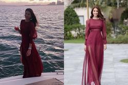 Bản tin Hoa hậu Hoàn vũ 22/2: Sống trong giàu có, Phạm Hương vẫn không bỏ đầm cũ 3 năm