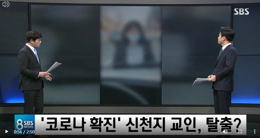 Xôn xao clip bệnh nhân siêu lây nhiễm ở Hàn Quốc trốn viện, đứng giữa đường chặn xe ô tô-3